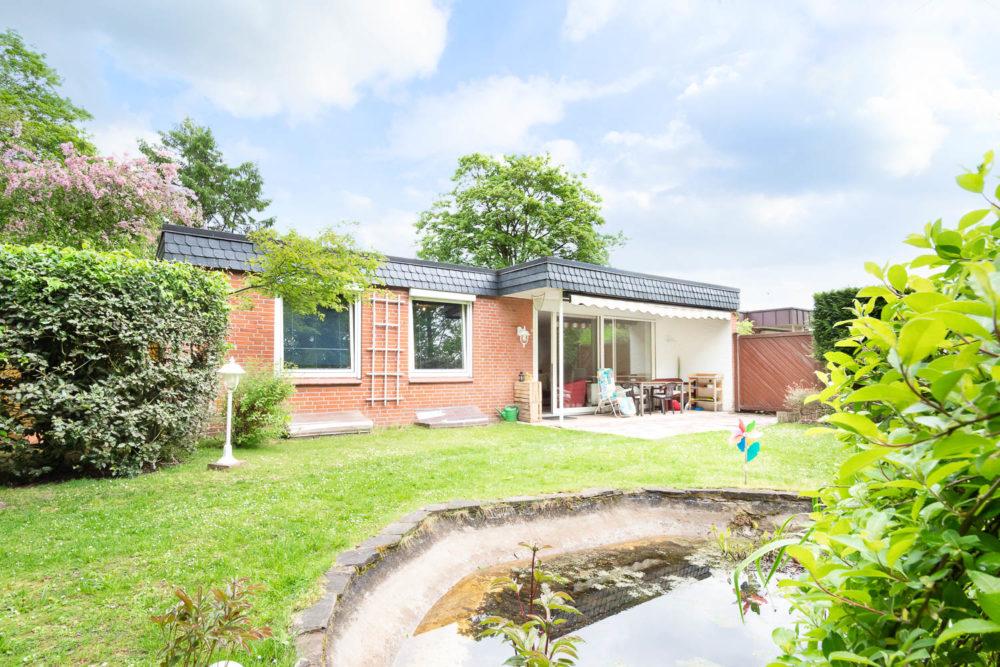 Stark Immobilien Hamburg Bungalow Rahlstedt zu verkaufen