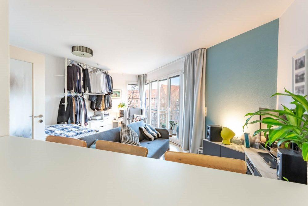 1-Zimmerwohnung in Barmbek-Nord Stark Immobilien Hamburg Wohnung Barmbek Nord zu verkaufen