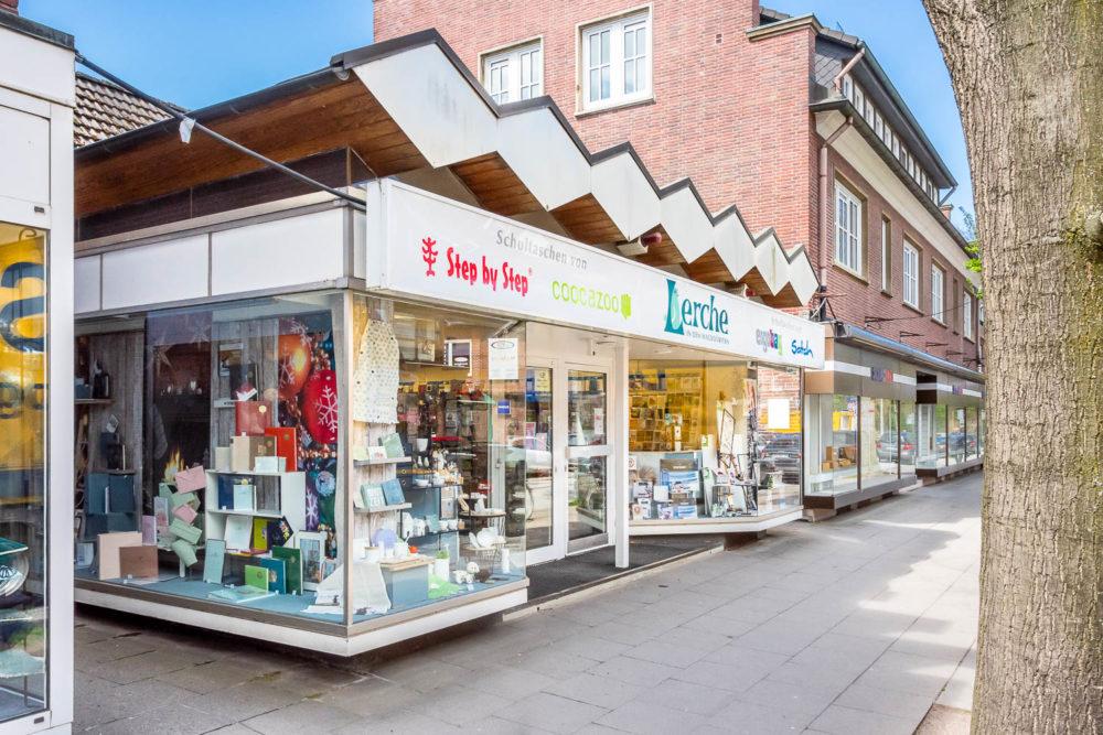Einzelhandelsladen in Volksdorf Stadtzentrum