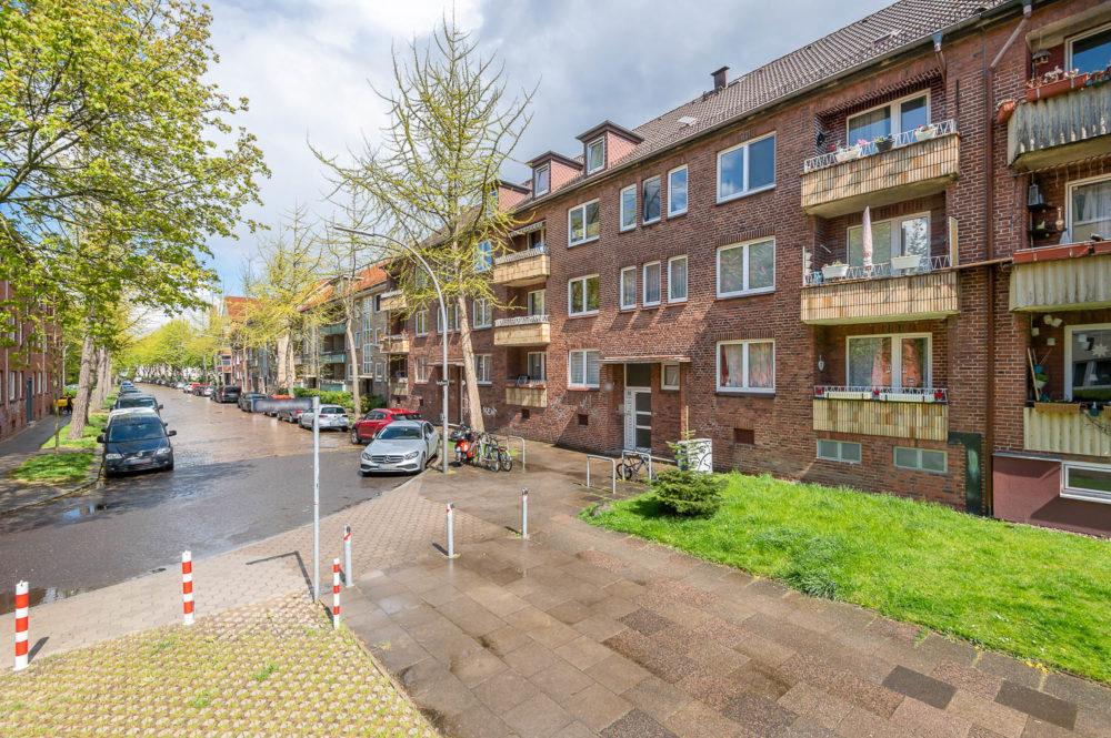 Solides Mehrfamilienhaus in Hamburg Hamm zu verkaufen Stark Immobilien Makler Hamburg