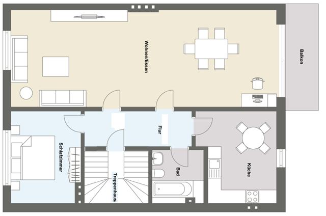 Flächenberechnung bei Immobilien